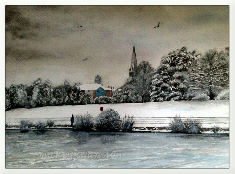 Winter in Exeter 2. - Image 0