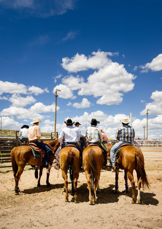 4th of July Rodeo I. (84x119cm) - Image 0