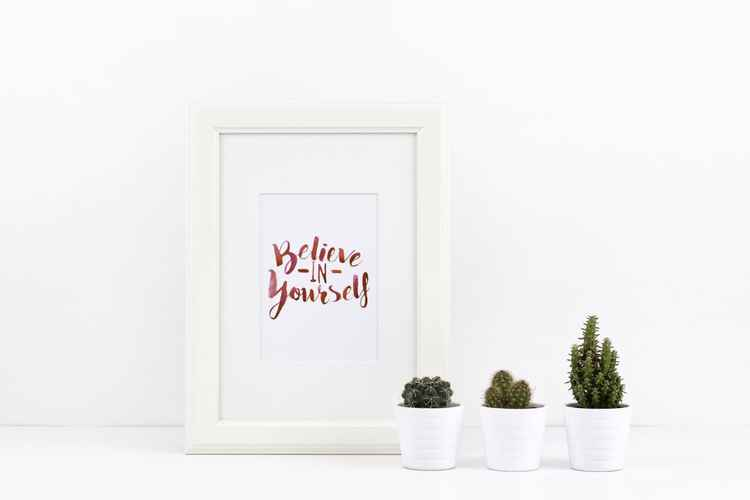 Believe In Yourself A4 Print