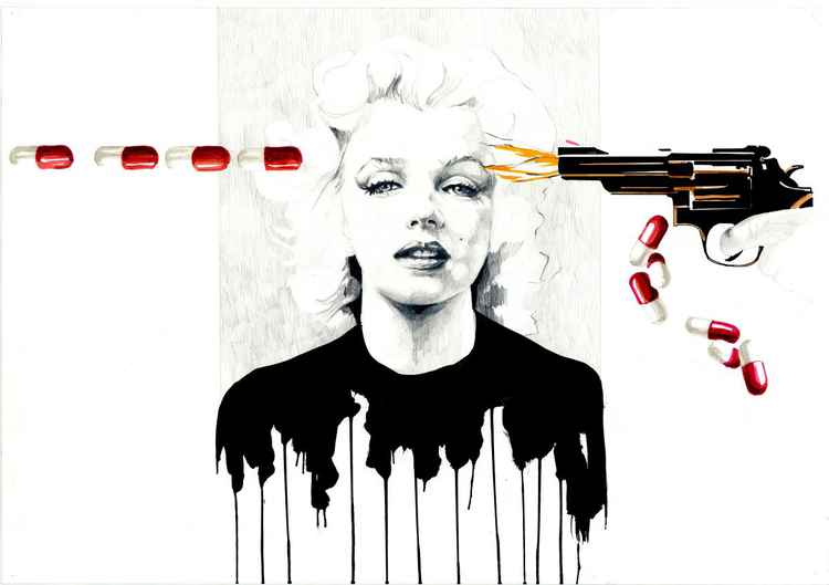 Marilyn suicided-
