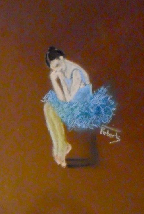 The sad ballerina - Image 0