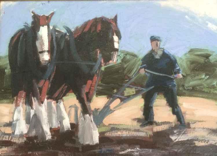 ploughing -