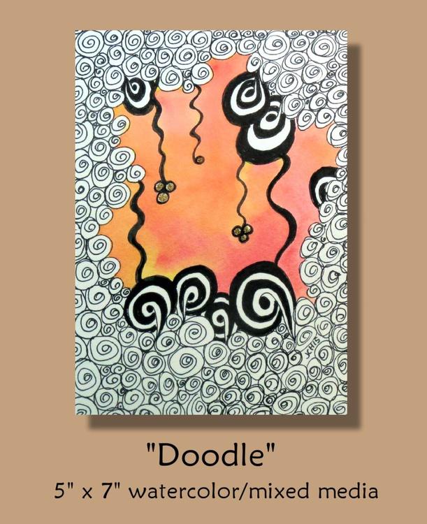 Doodle (Watercolor & Ink) - Image 0