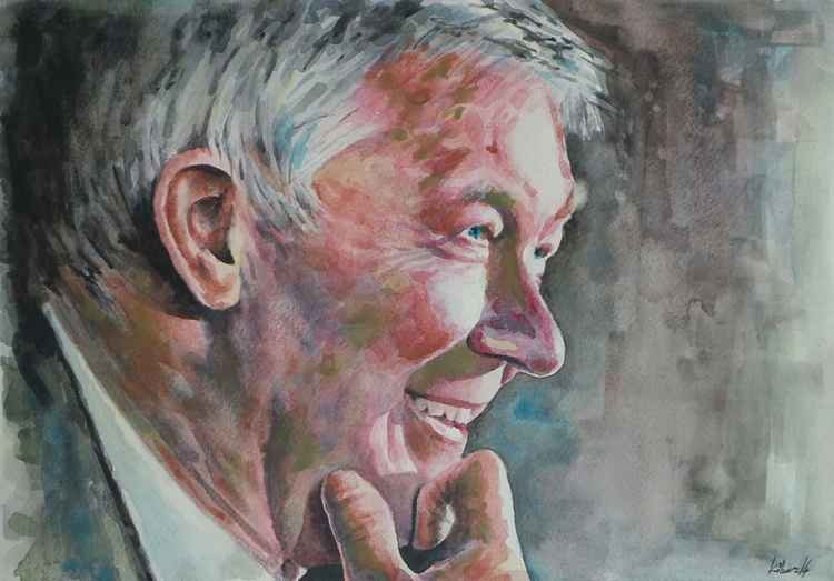 Sir Alex Ferguson - Portrait 2
