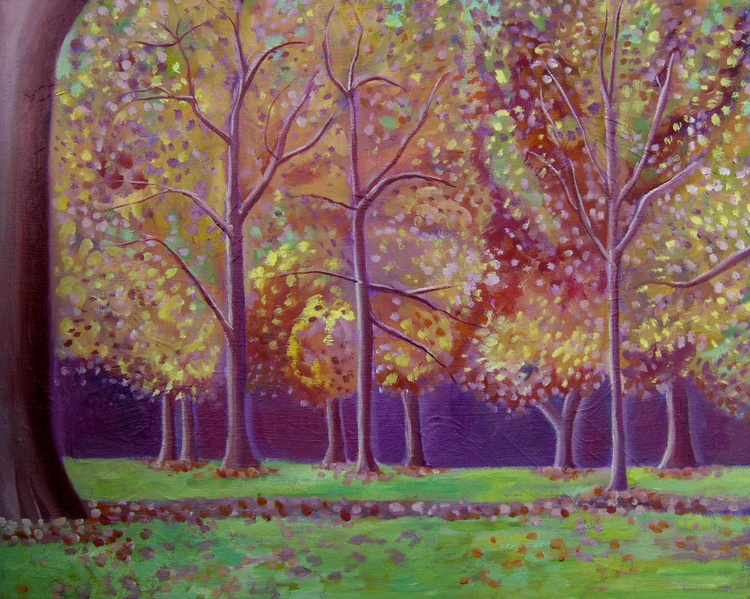 Autumn Trees in Hyde Park - Image 0
