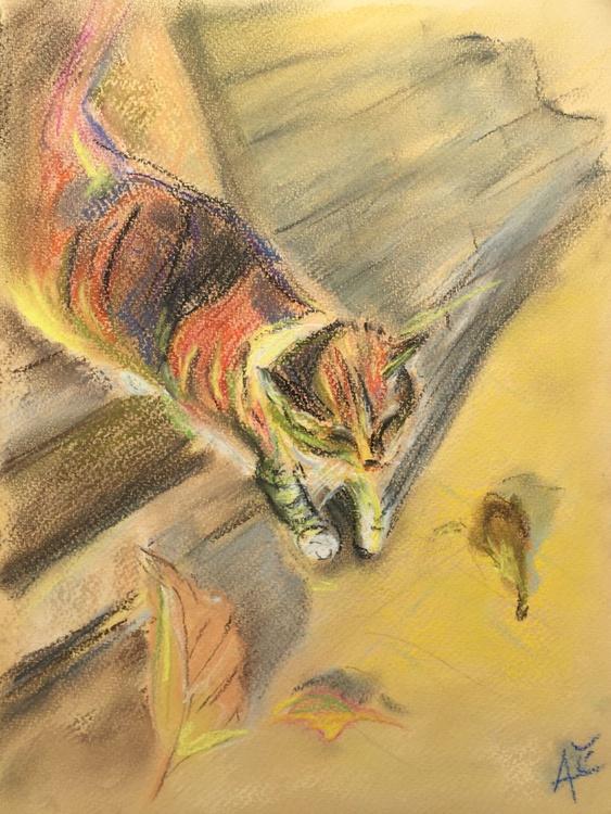 Cat and Autumn - Image 0