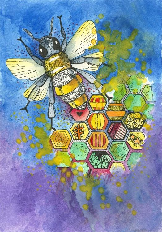 Honeycomb Bee - Image 0