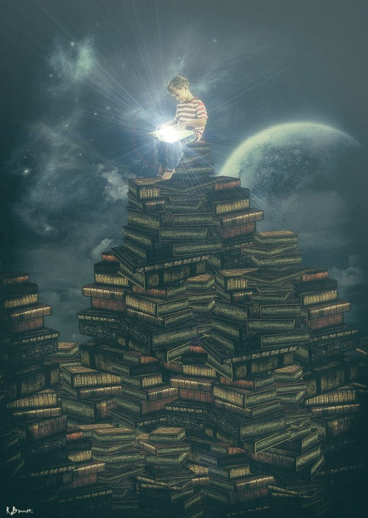 Mountain of Knowledge - Limited Edition of 10 - Image 0