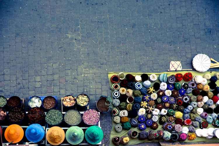 Market Stalls -