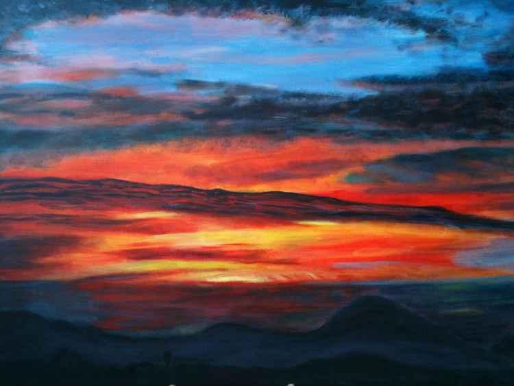 Fire in Sky -