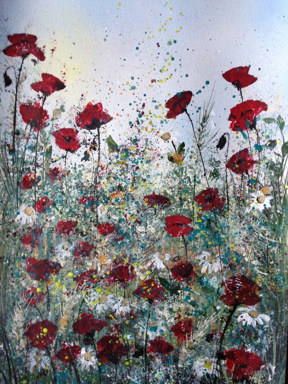 Whispers of poppies - Image 0