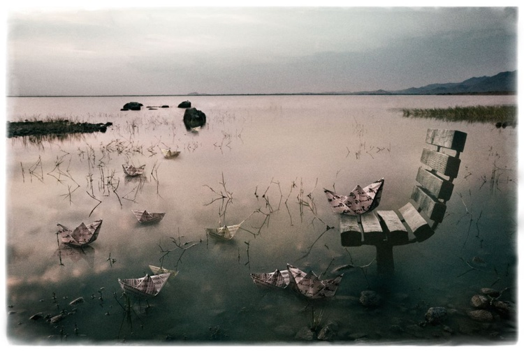 boats, from the series  'the chair's reverie' // edition of 5 - Image 0