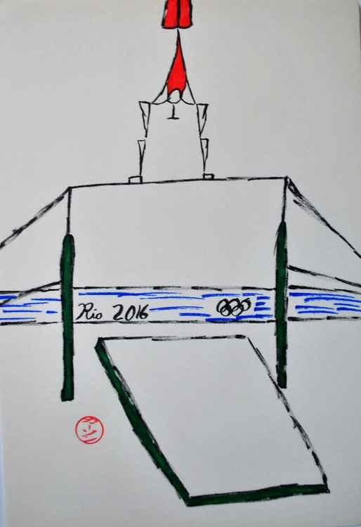 gymnastics - high bar -