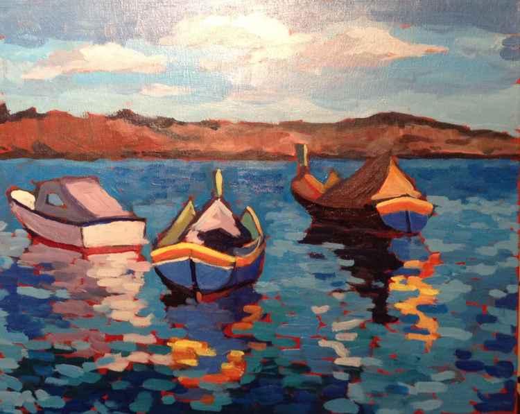 Maltese Boats 1 -