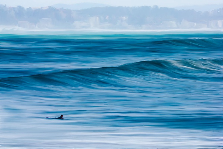 Surfer Between the Waves - Image 0