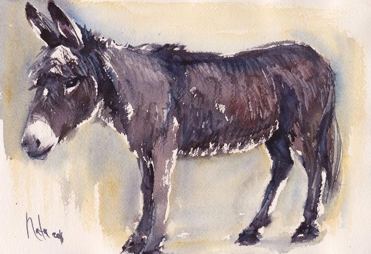 Donkey Patrick /Framed/Ready to hang/ - Image 0