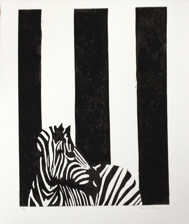 Zebra With Go Faster Stripes - Image 0