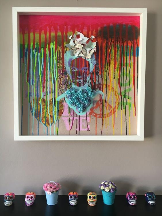 The colours of Frida (Big Frame) - Image 0