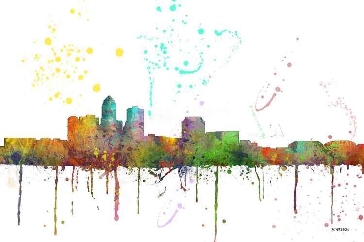 Des Moines Skyline MCLR1 -