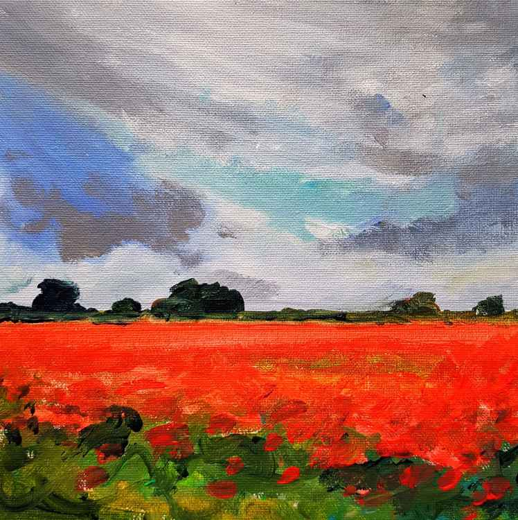Poppy Fields No.4