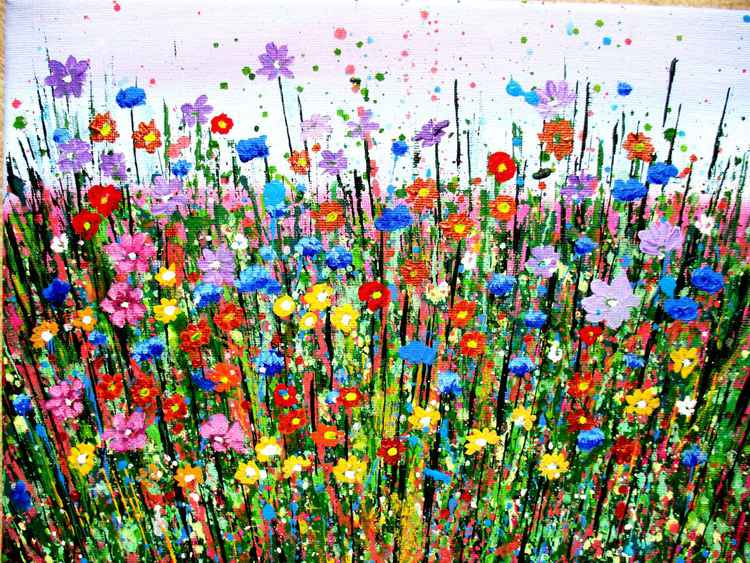Spring Burst, Wild Flowers