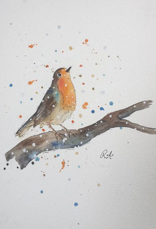 The First Snow -Robin- - Image 0