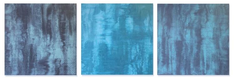 Aqua Nova Triptych (1, 2 & 3) - Image 0