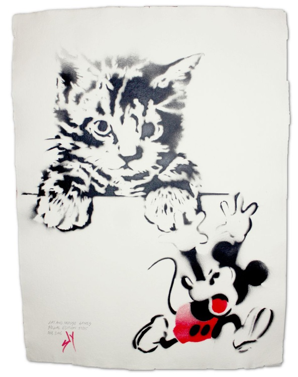 Cat and Mouse Games Special Edition (on gorgeous water colour paper) - Image 0