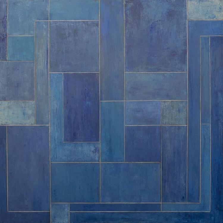 So Blue So Happy So Cool Big Square - Image 0