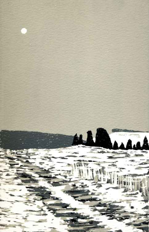 West Kennet, Winter -