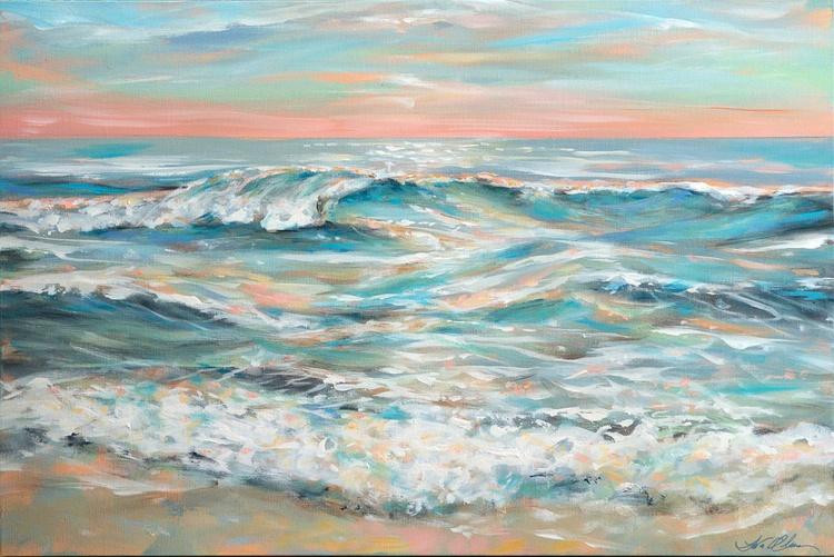 Waves at Dusk - Image 0