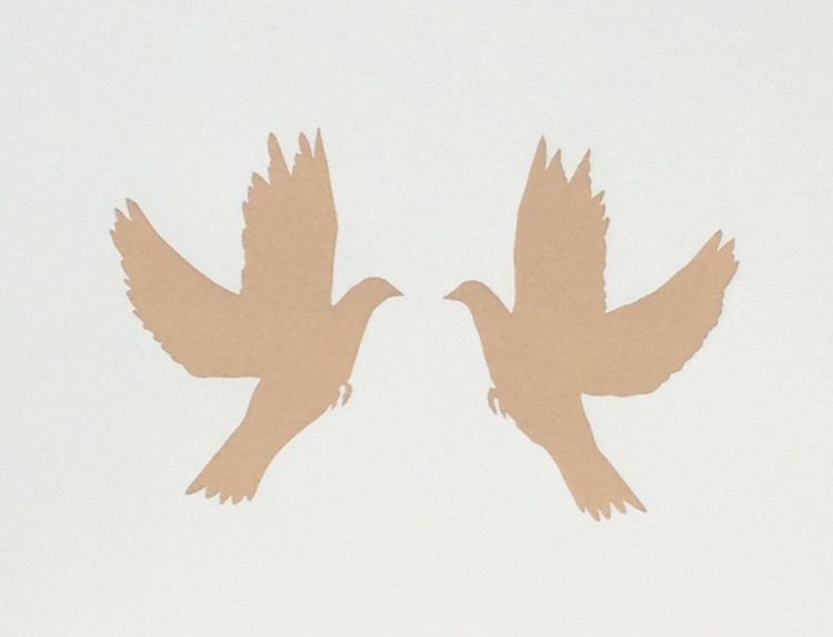 LOVEDOVES-unframed-FREE WORLDWIDE DELIVERY - Image 0