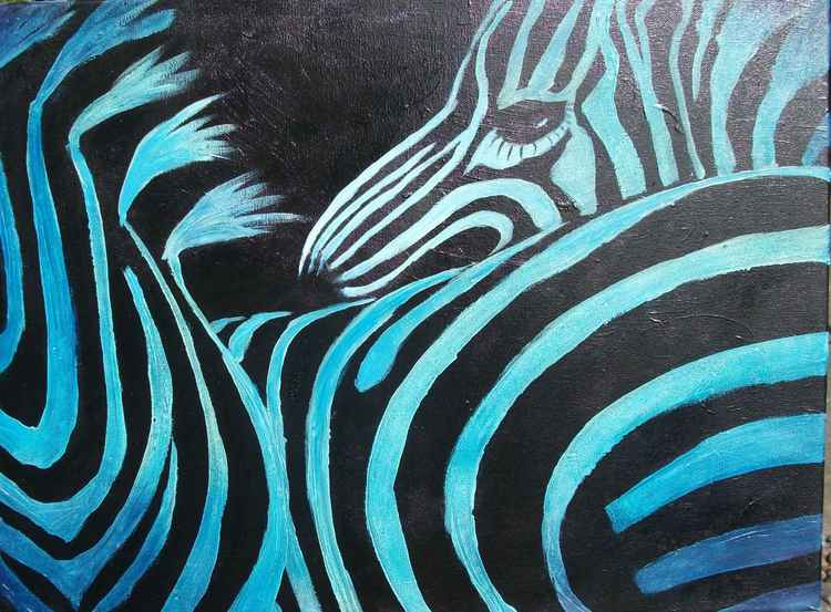 ZEBRA'S GOT THE BLUES -