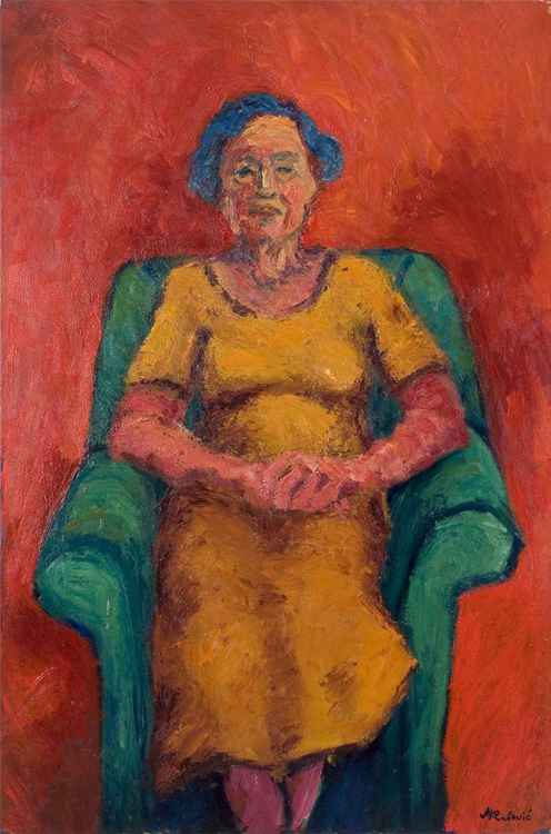 """""""Portrait in red"""" -"""