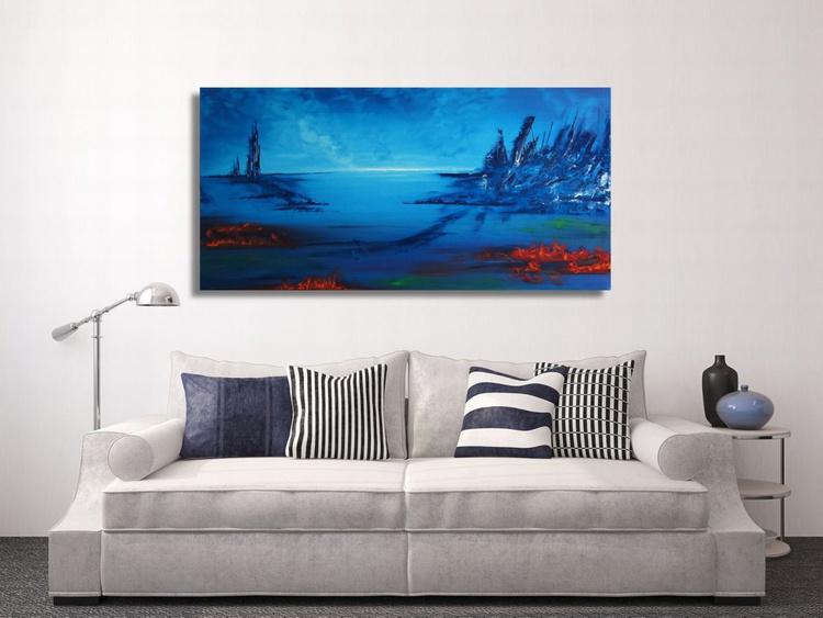 Badlands by the Sea (120x60cm) - Image 0