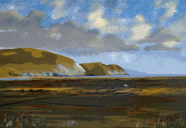 Sunlight at Minaun Cliffs, Achill - Image 0