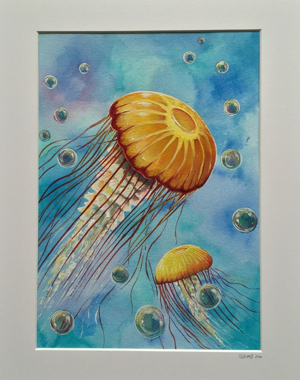 Under the Waves, Yellow Jellies - Image 0