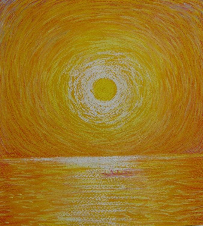 The Sun over the sea - Image 0