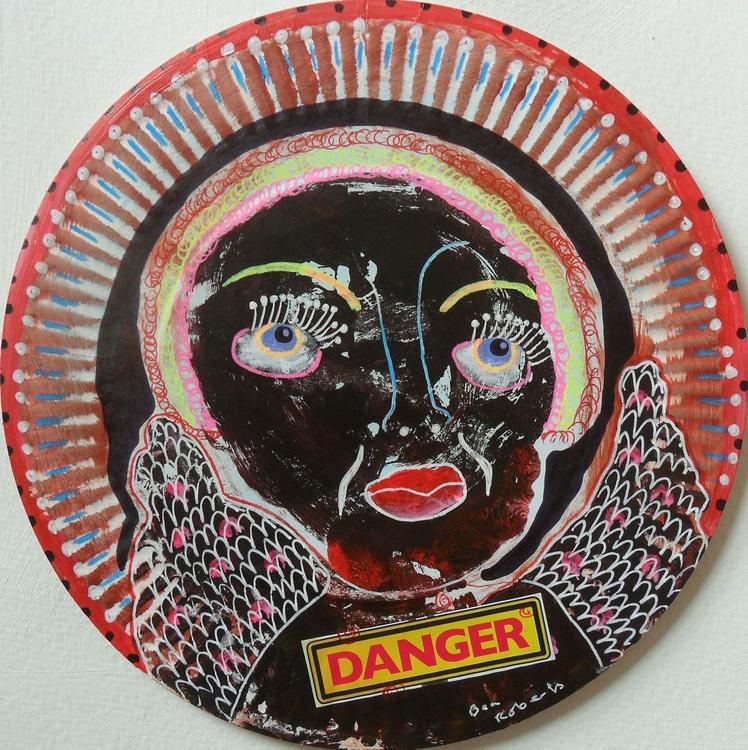 Danger - Circular Artwork - Image 0