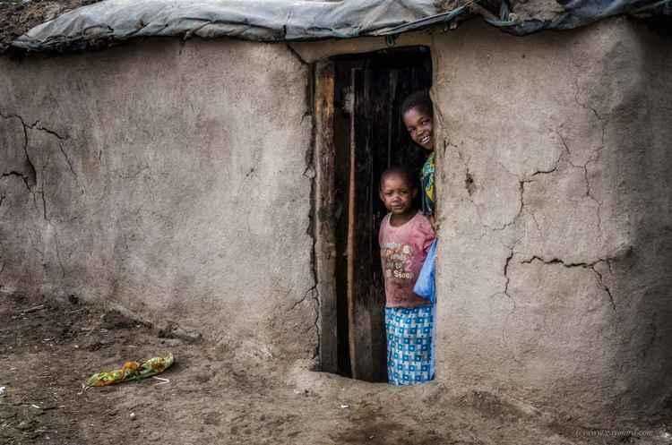 Masai's house -