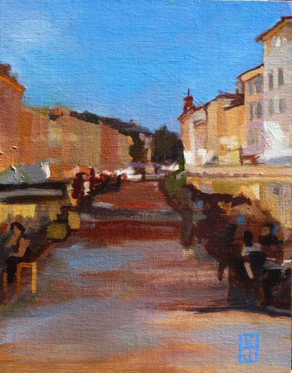 Aix en Provence in the Evening - Image 0