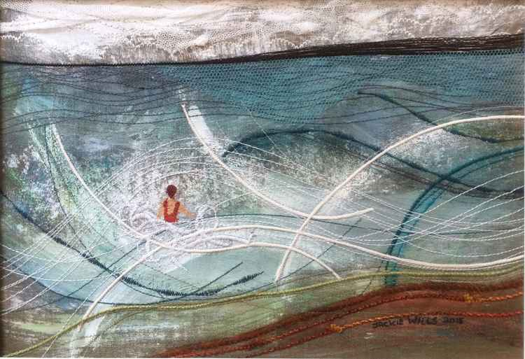 Helen in the Sea One by Jackie Wills