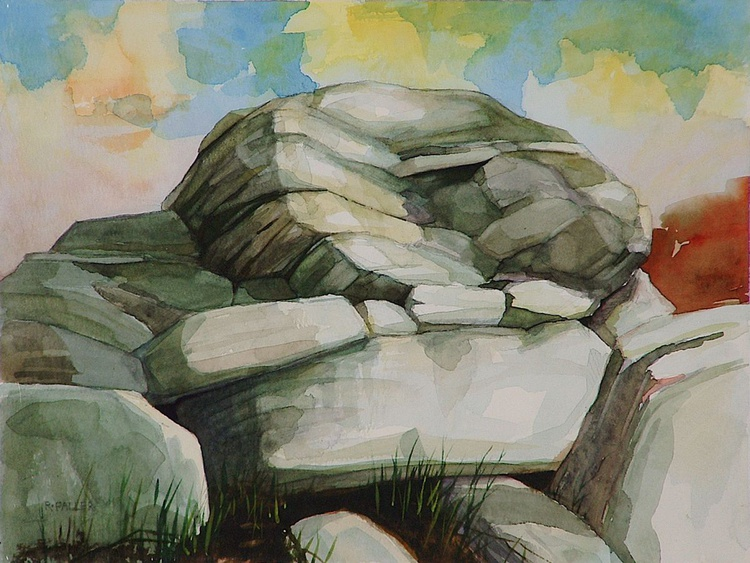 Rocks By The Trail - Image 0