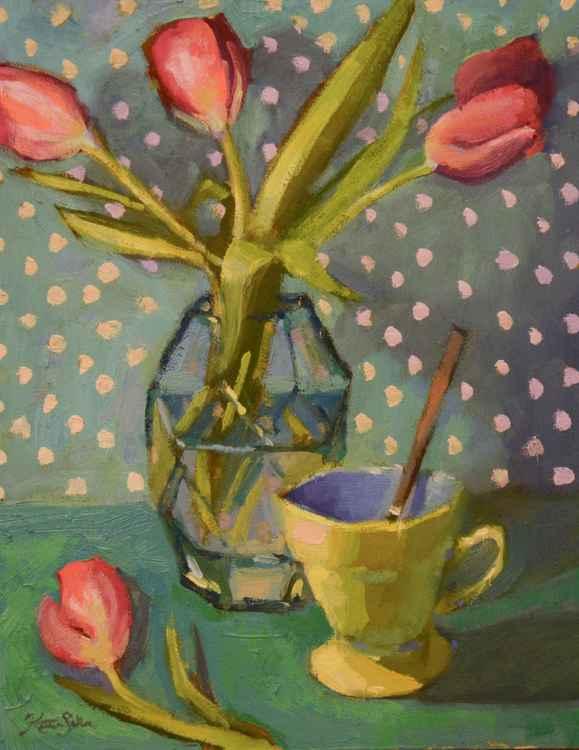 Tea and Tulips -