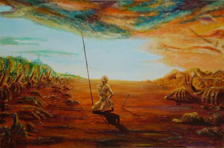 THE  BLIND  ARTIST -