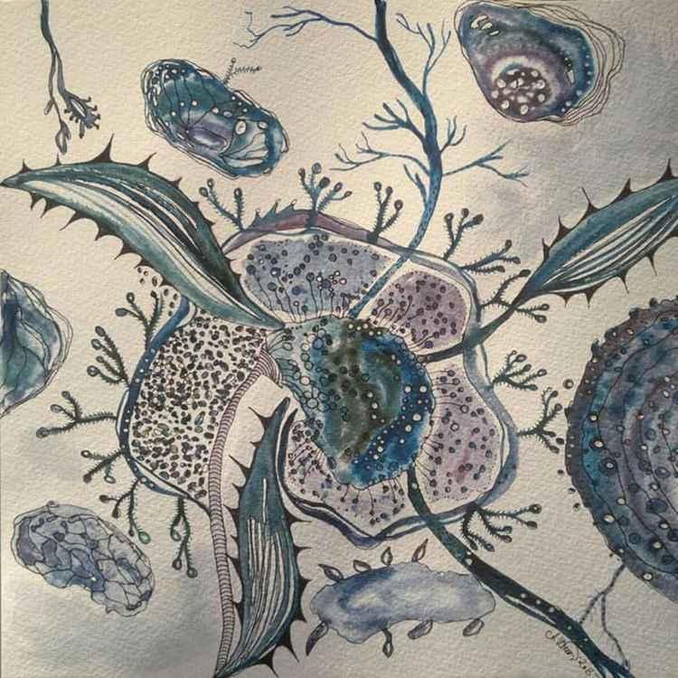Under The Sea Flower -