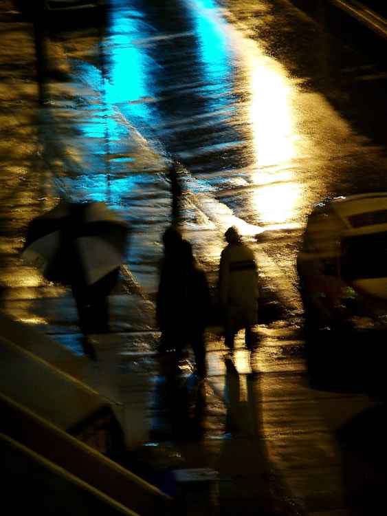 Rainy night in Harlem 1 -
