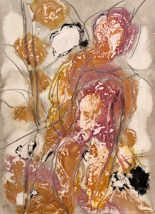 Ink on Paper #36, 29x42 cm - Image 0