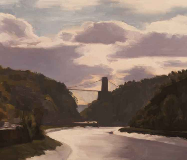 Avon Gorge into the Sun -