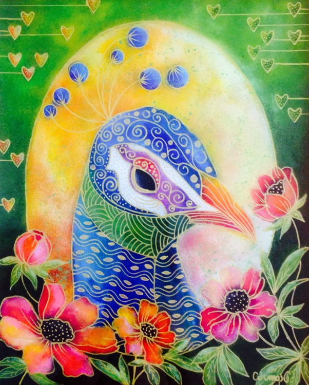 Peacock portrait - Image 0
